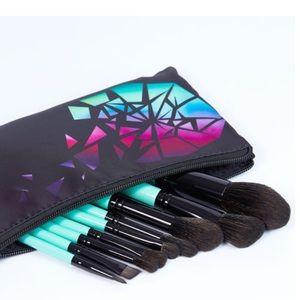 BH Cosmetics AURORA LIGHTS 10 pc. Brush set w/bag